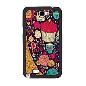 Hu Xiao Colorful Floral Love Hearts Designer HTC One M8 BtI0Y6Ss1v0 2 Monogrammed Hybrid Eiffel Tower Print Lovely cell phone case cover Skin