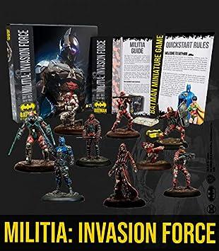 Knight Models Juego de Mesa - Miniaturas Resina DC Comics Superheroe - Batman Bat-Box Militia Invasion Force: Amazon.es: Juguetes y juegos