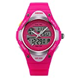 Digital Alarm Quartz Analog Water Resistant girls Watches Chronograph