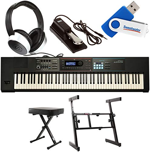 Roland JUNO-DS88 Essential Keyboard Bundle