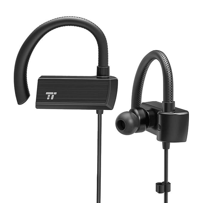 Cuffie Bluetooth TaoTronics In Ear Wireless Sportive con Ganci Regolabili  360°15 Ore di Riproduzione 50556347387b