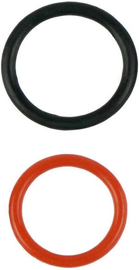 Power Steering Pump Rubber Inlet /& Outlet O-Ring Seals 91345-RDA-A01 91370-SV4-000 Fit for HONDA P//S Hi Pressure Hose 2 pc Kit