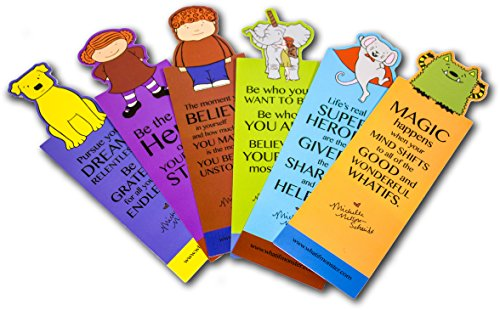 Mns Creative Character Bookmarks Set Of 6 Whatif Monster  Cordelia  Bob Is A Unicorn  Dog  Mouse  Jonathan James By Michelle Nelson Schmidt