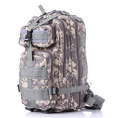 Team Pistol Tactical Military Backpack Camping Hiking Trekking Bag Waterproof Pack