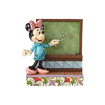 Jim Shore Disney Traditions by Enesco Teacher Minnie Figurine 4059750