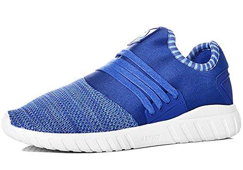 Asfvlt - Zapatillas de Material Sintético para hombre azul turquesa JPSRd3W