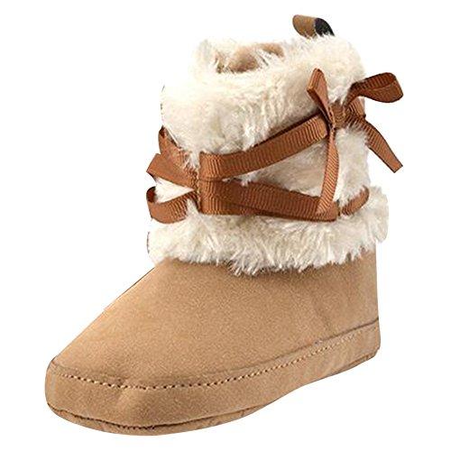 Zapatos beige de invierno infantiles FOtchk9O6a