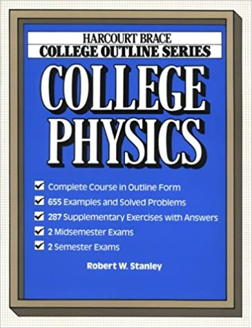 Amazon com: College Outline for College Physics (Harcourt Brace