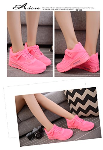 New Fashion Ladies Sneakers Air Cushion Scarpe Da Ginnastica Scarpe Da Ginnastica Scarpe Stringate Rosa