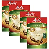 4 BOXES of Melitta Size 1x4 Gourmet Intense Coffee Filters, Pack of 80