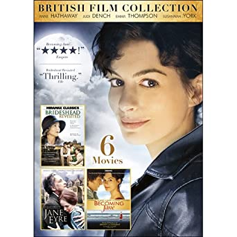 Amazoncom 6 Movie British Film Collection Anne Hathaway Robert