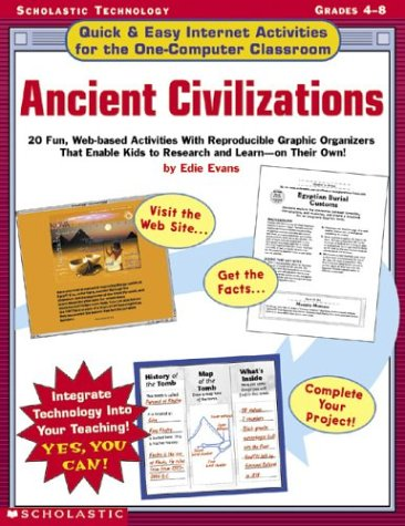 Ancient Civilizations: Quick & Easy Internet Activities for the One-computer Classroom