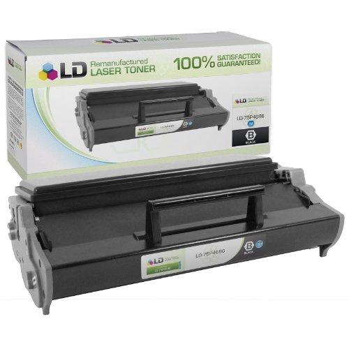 LD Remanufactured IBM High Yield Black 75P4686 Laser Toner Cartridge. (InfoPrint 1312) (75p4686 Laser)