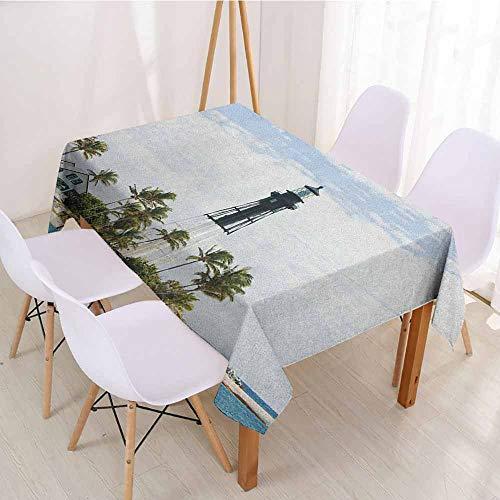 - ScottDecor Christmas Tablecloth Table Cover W 54