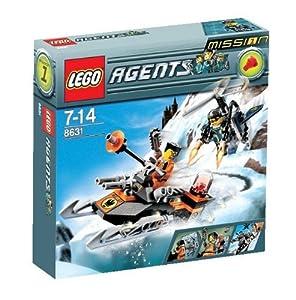 LEGO Agents 8631: Mission 1: Jetpack Pursuit: Amazon.co.uk ...