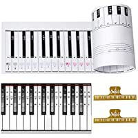 Ultimate Piano Keyboard Learning Aid Set - 1:1 Scale 88...