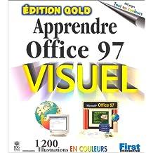 APPRENDRE OFFICE 97 VISUEL DITION GOLD