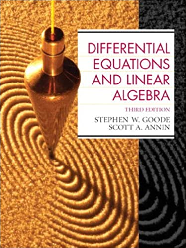 Differential equations and linear algebra 3 stephen w goode differential equations and linear algebra 3rd edition kindle edition fandeluxe Images
