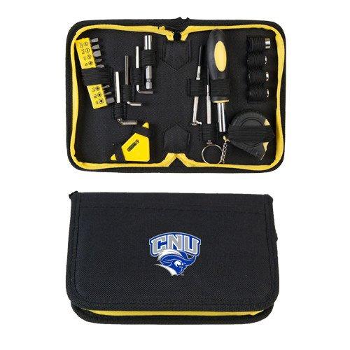 CollegeFanGear Christopher Newport Compact 23 Piece Tool Set 'Official Logo' by CollegeFanGear