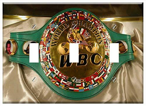 (Switch Plate Triple Toggle - Sport History World Boxing Council Championship Belt)