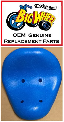 Blue SEAT for The Original Big Wheel Racer/ Mighty Wheels, Original Replacement Parts