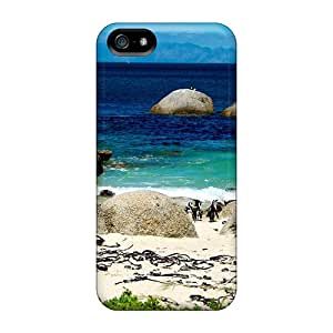 Excellent Iphone 5/5s Cases Covers Back Skin Protector Penguins Destiny