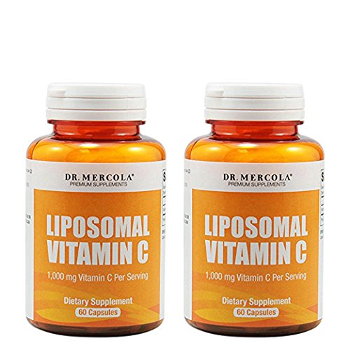 Dr. Mercola Liposomal Vitamin C 1,000mg per Serving – 60 Capsules – 30 Servings – Antioxidant Supplement with Higher Bio Availability Potential & Immune System Support – 2 Bottles Review