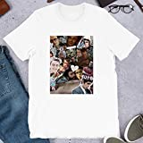Joe Gilgun Photographic This is England Misfits Rudy Wade Woody Preacher Gift for Men Women Girls Unisex T-Shirt (White-2XL)