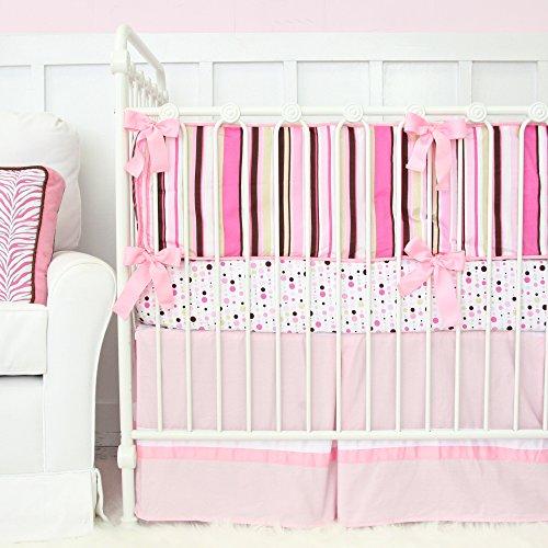 Caden Lane Ella Bedding Set, Pink - Ella Crib Bedding Set