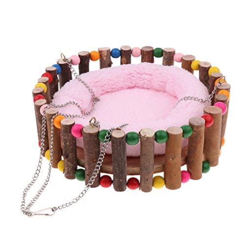 joyMerit Hamster Hammock Pet Nest Bed Sleeping Nester Small Pet Toy Random Color - S from joyMerit