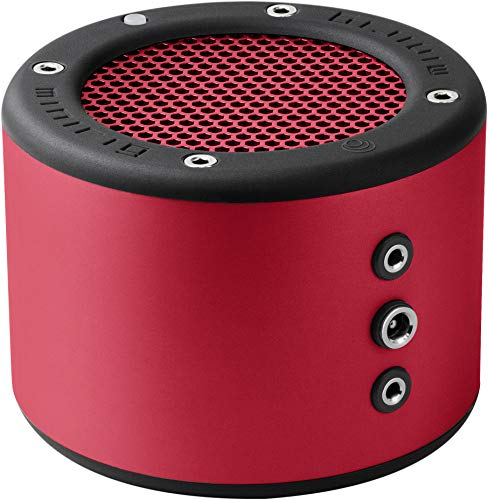 MINIRIG 3 Portable Rechargeable Bluetooth Speaker - 100 Hour Battery - Loud Hi-Fi Sound - Red