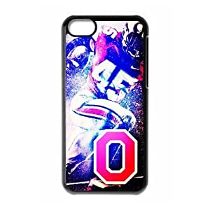 Custom Plastic Case 9 Sports NCAA Ohio State Buckeyes Football ipod touch 5 ipod touch 5 Case-Just DO It