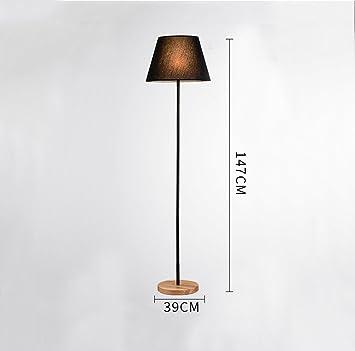 LYTSM® Lámpara de pie coreana, decoración de madera del ...