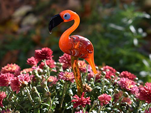 (Cute Glass Animals Flamingo)