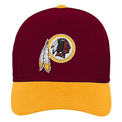 Outerstuff NFL NFL Washington Redskins Youth Boys Velocity Structured Snap Hat Burgundy, Youth One Size