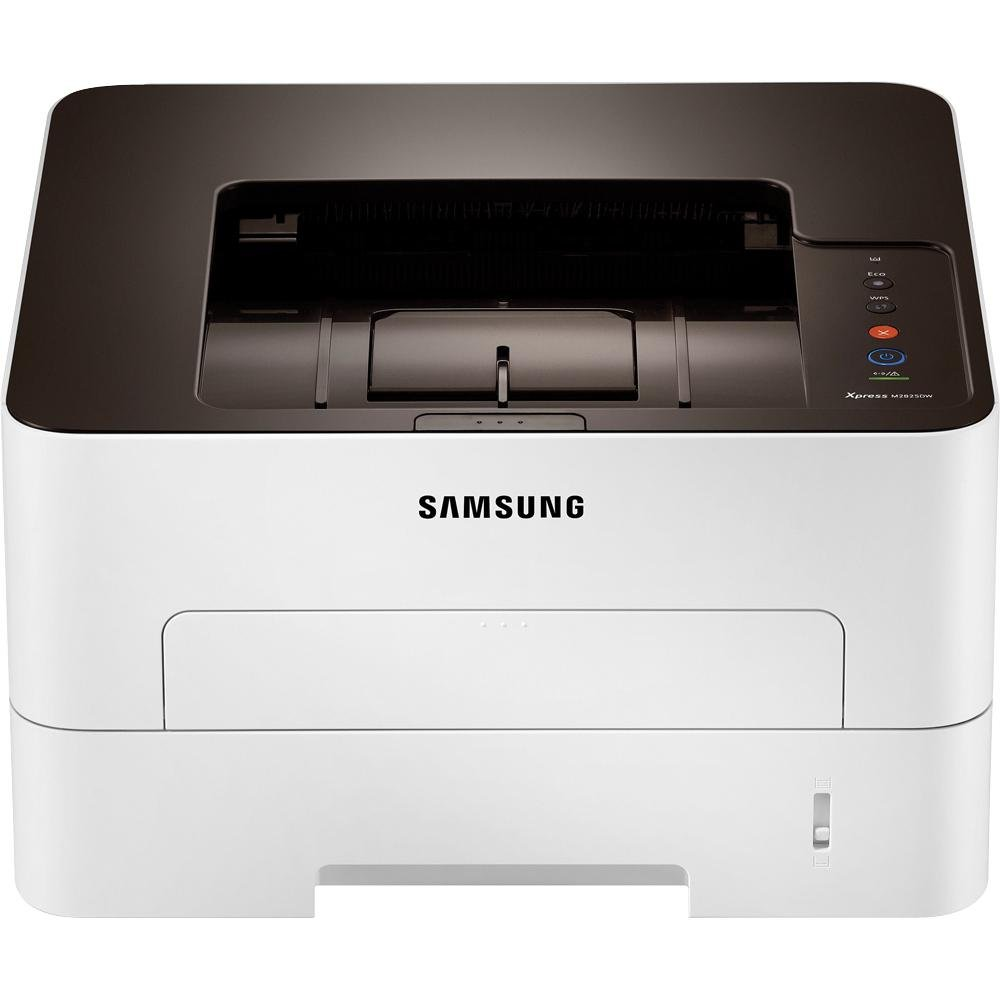 amazon com samsung printer xpress sl m2825dw wireless monochrome