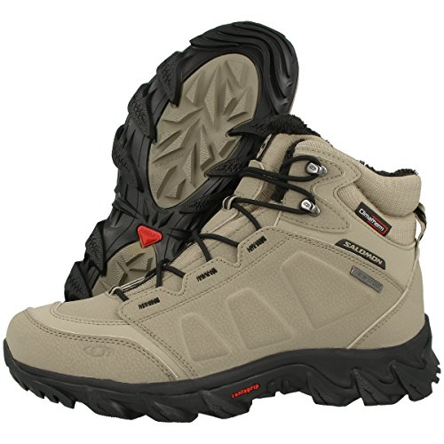navajo Elbrus navajo Sportschuhe WP black Salomon dark 108751 Herren Walking 8dT4xqHw