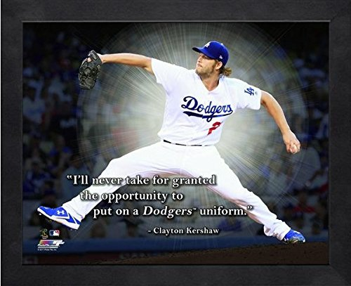 Clayton Kershaw LA Dodgers ProQuotes Photo (Size: 9