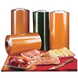 AEP Industries Inc Resinite RMF-61HP Series Hand Wrap Stretch Meat Film Clear, 5000' Length x 17'' Width | 1/Roll