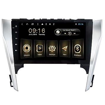 TOPNAVI Android 8.1 Radio del Coche para Toyota Camry 2012 2013 2014 Coche de navegación estéreo