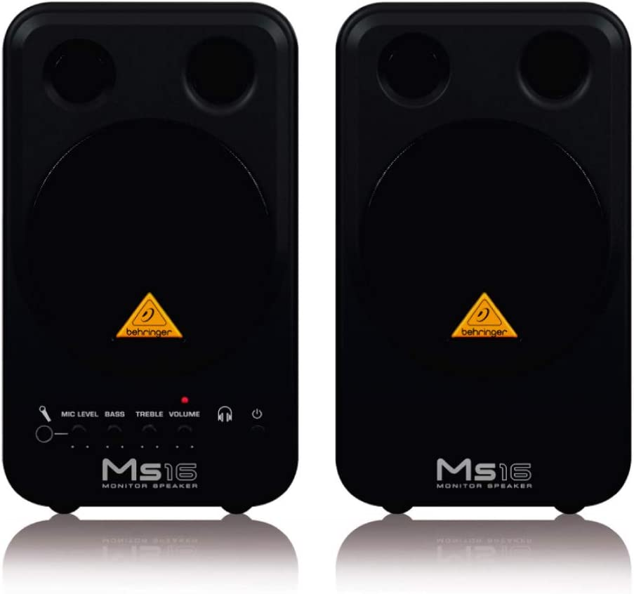 Behringer MS16 Compact Stereo Speaker System – Product Review