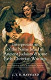 img - for Interpretations of the Name Israel in Ancient Judaism and Some Early Christian Writings: From Victorious Athlete to Heavenly Champion by C. T. R. Hayward (2005-05-19) book / textbook / text book