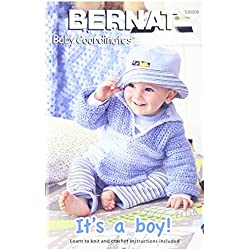 Spinrite Bernat Knitting and Crochet Patterns, It's a Boy Baby Coordinates