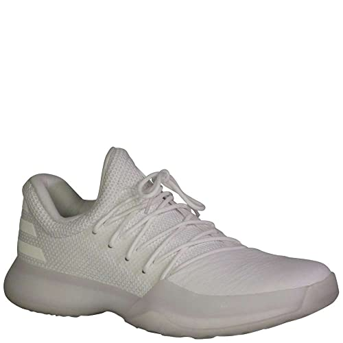Basketball Boy/'s Adidas Harden Vol 1 Width: med White