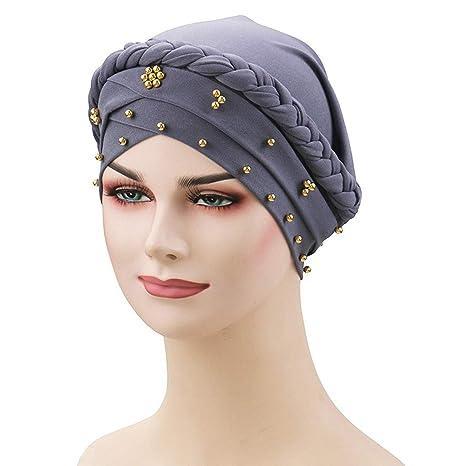 Sombreros Mujer, MINXINWY Sombrero Indio de Trenza para Mujer ...