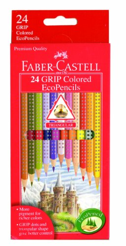 Faber Castell Grip Colored EcoPencils 24 product image