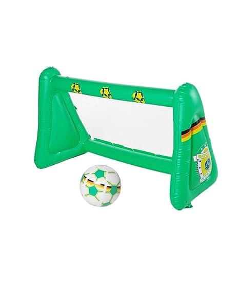 Portería de fútbol hinchable 22106: Amazon.es: Deportes y ...