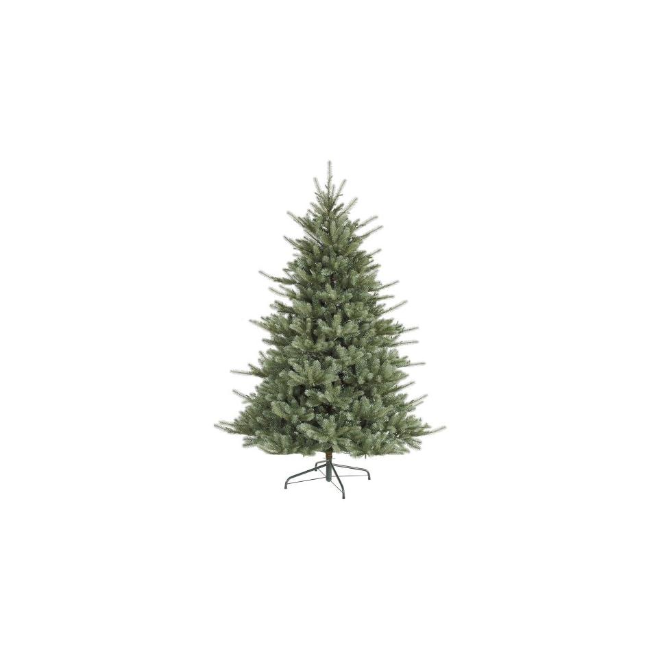9 Slim Colorado Blue Spruce Artificial Christmas Tree   Unlit