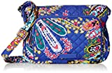 Vera Bradley Iconic RFID Little Hipster, Signature Cotton, Romantic Paisle