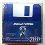 PowerDisk 2HD Floppy Diskette Neon 5 Pack